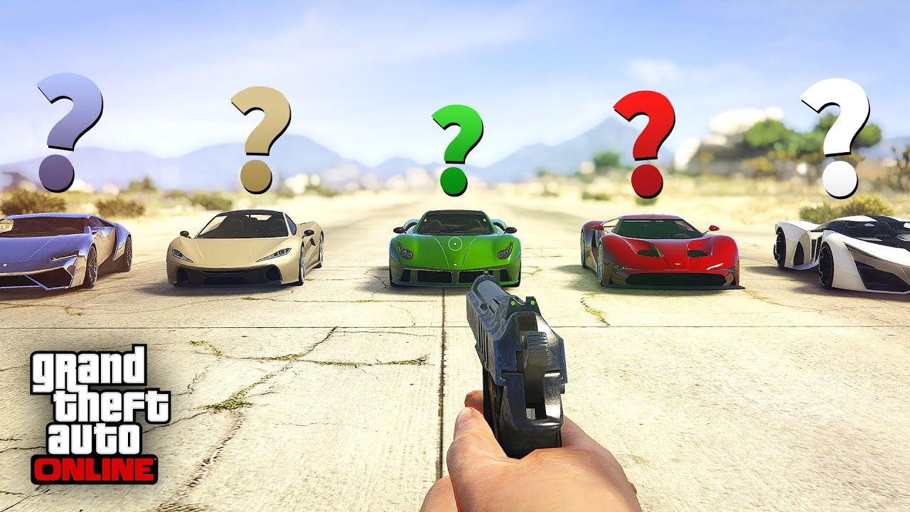 So I tried to do the Zero Damage Glitch on all 12 Top Range vehicles in GTA Online