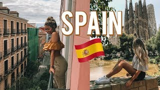 MADRID & BARCELONA // SPAIN 2018
