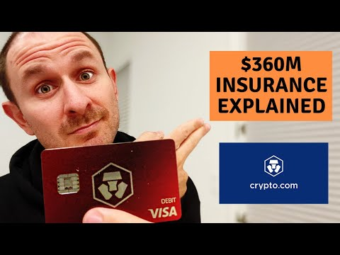 EXPLAINED: Why Crypto.com's $360M Insurance Policy Is CRUCIAL - MCO CRO Crypto Debit Card Update