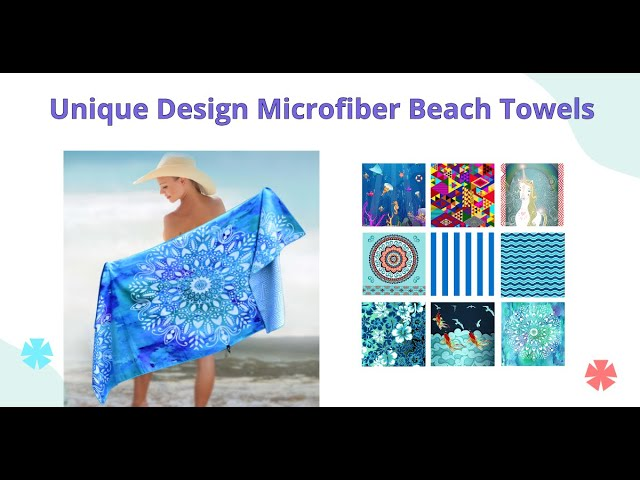 Why a Microfiber Beach Towel Is a Must-Have for Your Travel Bag?