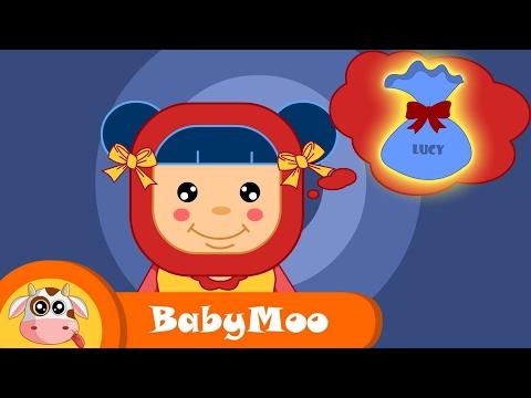 Lucy Locket | Nursery Rhyme | Baby Moo
