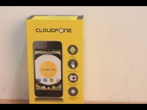 for cloudfone excite 402d