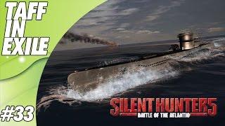 Silent Hunter 5 - Battle of the Atlantic | E33 | Banged up Tub!