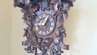 Antique Black Forest Spring Powered Cuckoo Clock