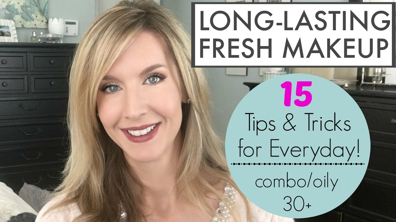 Long Lasting Makeup  8 Tips and Tricks for Everyday Easy Makeup That  Lasts All Day