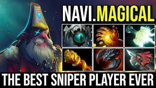 [NaVi.MagicaL] The Best Sniper Player Ever - Super Machine Gunner Max Damage 22KIlls Crazy Dota 2