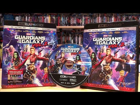 Guardians of the Galaxy Vol. 2 4K Ultra HD Blu-ray Unboxing and Review