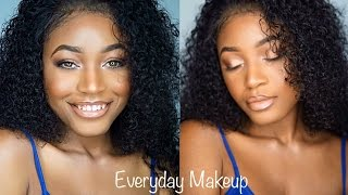 Download Video Easy and Affordable Everyday Makeup Look for WOC | Beauty With Vee ♡ MP3 3GP MP4