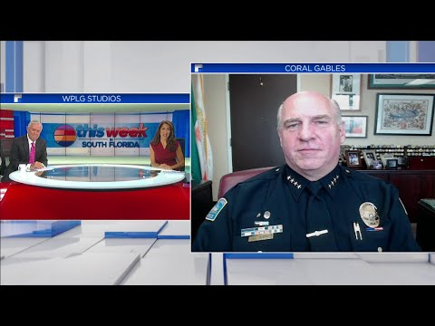 Coral Gables Police Chief Ed Hudak Joins TWISF To Discuss Department Helping Organize Peaceful P...