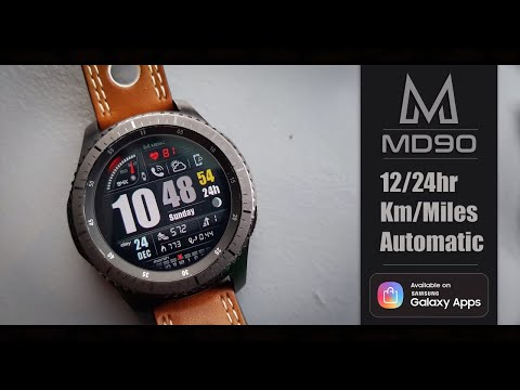 Best Looking Watch Faces For The Gerar S3/Gear Sport