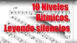 10 Niveles de Lectura Rítmica: Leyendo silencios