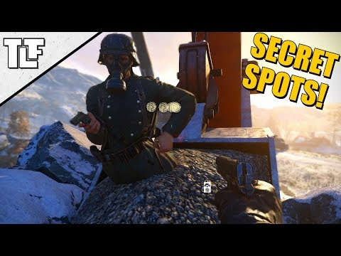 5 Call of Duty: WWII Secret Spots and Out of Map Glitches *AFTER PATCH 1.07* (COD WW2 Strafe Jumps)