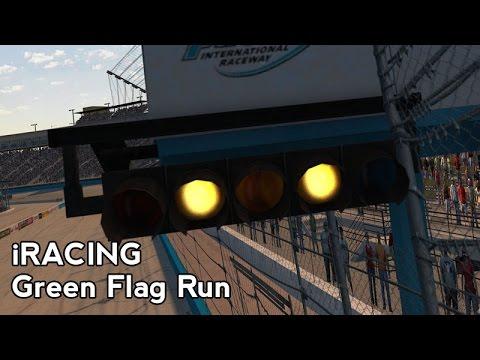 iRacing : Green Flag Run (DW12 @ Phoenix 2008)