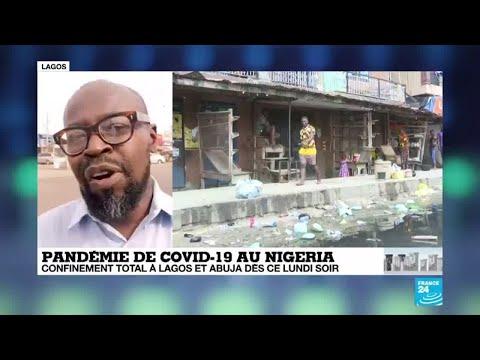 Coronavirus au Nigeria: Confinement total annoncé à Lagos et Abuja