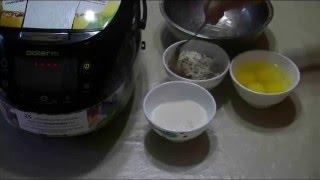Домашние видео рецепты -  шоколадный бисквит в мультиварке