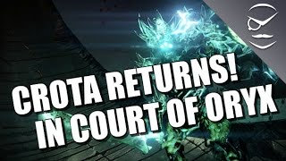 Crota Returns! Fake Crota Court Of Oryx Boss!