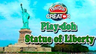 How to make Play-doh Statue of Liberty | Как сделать Play-doh Статуя свободы