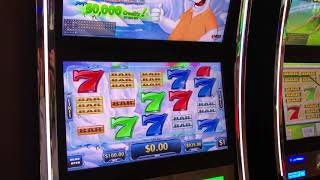 "VGT Slots Polar High Roller ""Live Handpay -Watch It Develop""  $100 Max Bets.  Choctaw Gaming Casino"