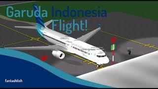 ROBLOX | Garuda Indonesia®™ Flight Review.