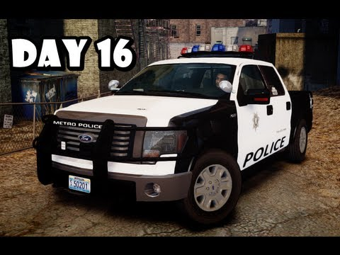 GTA IV: LCPDFR Day 16 - Las Vegas Metropolitan Patrol