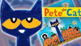 #ReadAlong | PETE THE CAT: Five Little Pumpkins | Sing-Along Song | Happy Halloween!