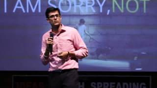 The Thing About Words | Gaurav Sarien | TEDxGGDSDCollege
