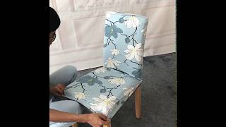 Stretch Elastic Fabric Sofa Cover Dining Chair Couch Furniture Protector