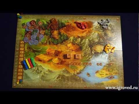 100000 лет до нашей эры. Обзор настольной игры от Игроведа.