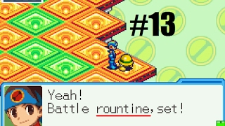 Let's Play Mega Man Battle Network 6 Cybeast Falzar #13 - On the Job