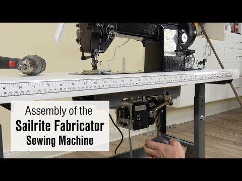 Assembly of the Sailrite Fabricator Sewing Machine