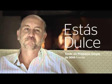 PUBLICIDAD BBVA BANCO FRANCÉS   ESTÁS DULCE