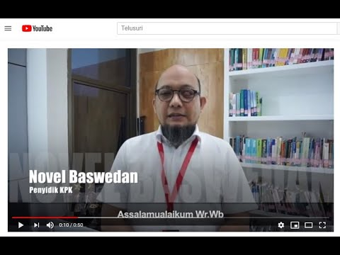 Viral! Dukungan Penyidik KPK Novel Baswedan untuk Jaksa Berprestasi Chuck Suryosumpeno