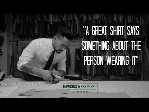 Hawkins & Shepherd Handmade Shirts / A Journey through Jermyn Street to Savile Row, London