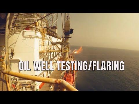 Offshore Oil Rig Today   Well Testing   OTIKTV
