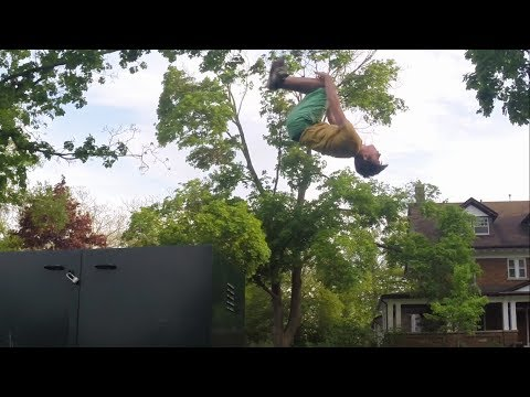Parkour With GoPro EP 1 - Insaine Flips