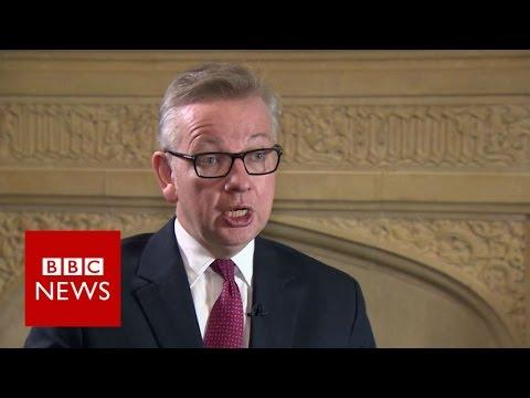 Michael Gove: Boris Johnson wasn't up to the job - BBC News