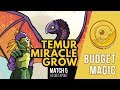 Budget Magic: Temur Miracle Grow vs UB Tapout (Match 5)