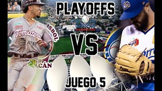 Tomateros Vs Charros  Juego#5 / Playoffs 2019