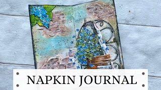 Napkin Journal -How to Create a Brick Wall