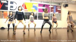 Sexy Dance - Run the world by FOX Kieu Ngoc VDANCE Studio