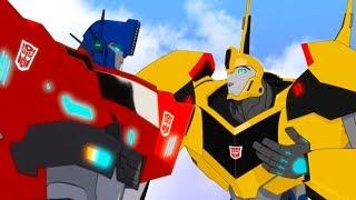 Мультфильм Трансформеры: роботы под прикрытием 1/5. Быть лидером