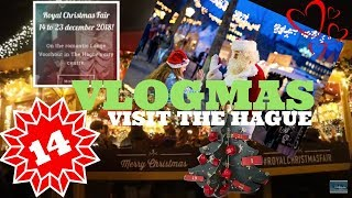 🎄 Vlogmas Day 14 | Royal Christmas Fair 2018  | Filipino Dutch Travels | Jeroen & Kyn ♥️