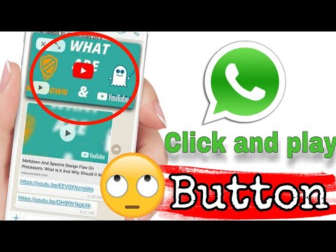 Whatsapp New update 🔥🔥🔥click and play button