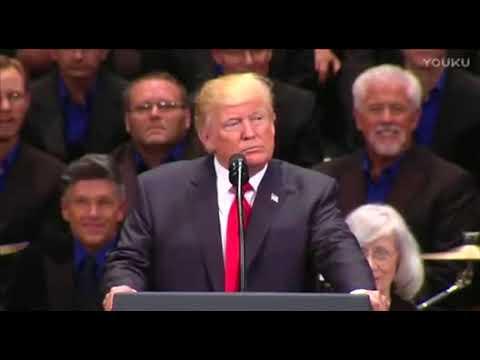 美国总统川普对于宗教信仰的讲话(中文字幕)