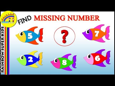 Find the Missing Number | Learn to Identify Missing Number | Best Activity Videos for Kids