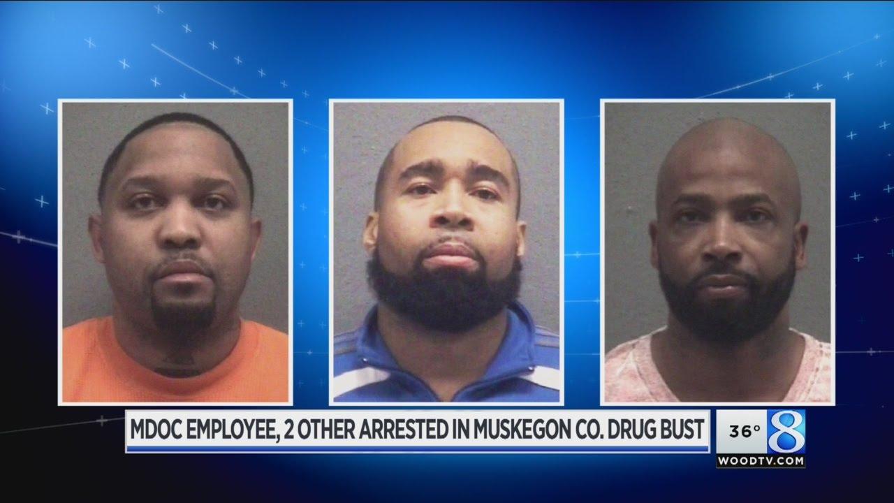 MDOC employee among arrests in Muskegon Co  drug bust