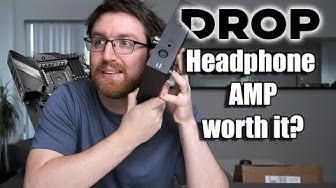 Massdrop headphone amplifier/DAC vs high-end gaming motherboard audio