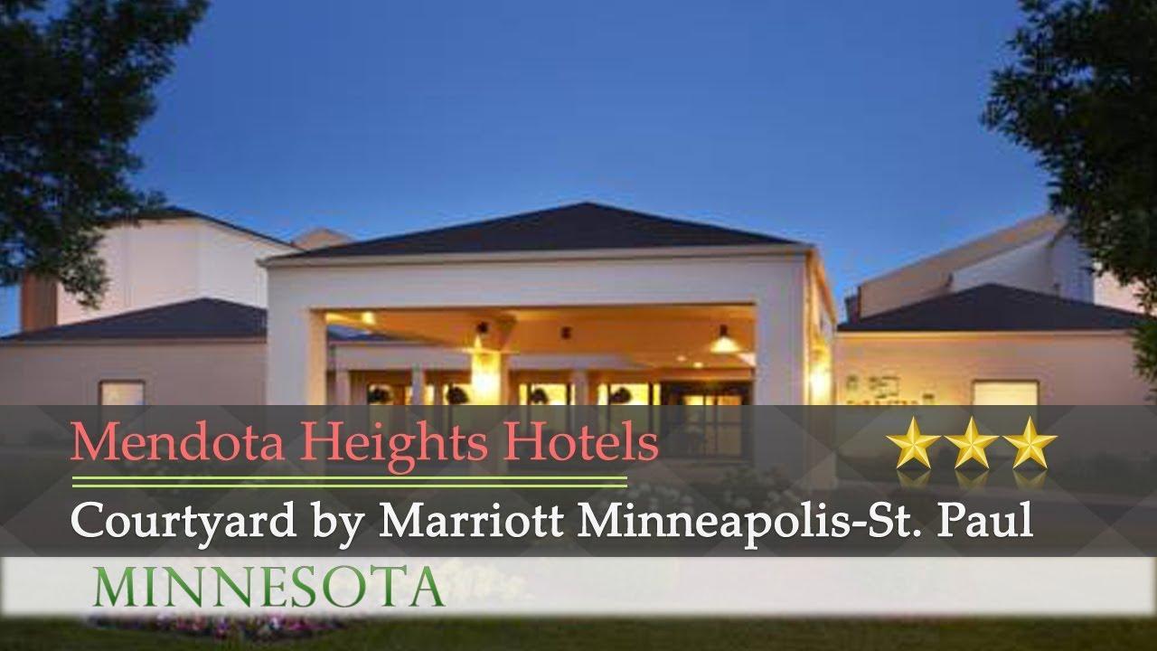 Courtyard By Marriott Minneapolis St Paul Airport Mendota Heights Hotels Minnesota