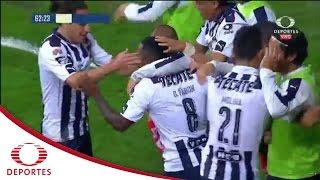 Gol de Dorlan Pabón | Monterrey 2-1 Querétaro | Televisa Deportes