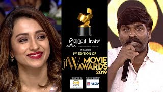 Vijay Sethupathi Powerful speech on women in cinema at JFW Movie Awards 2019